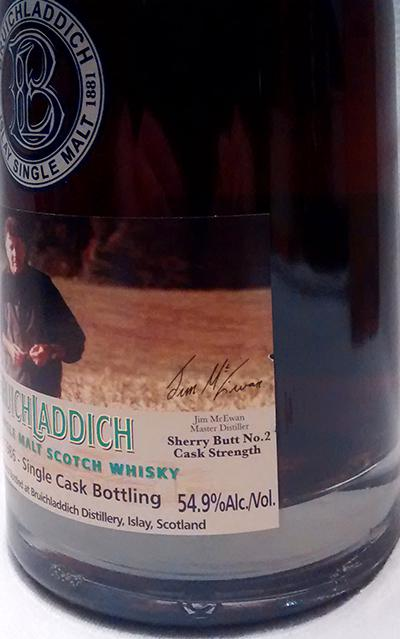 Bruichladdich 1986 Sherry