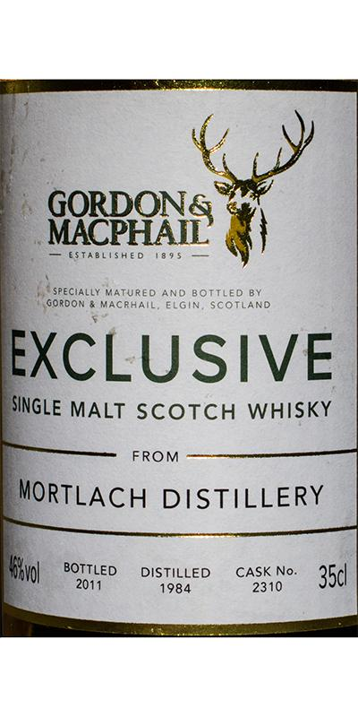 Mortlach 1984 GM