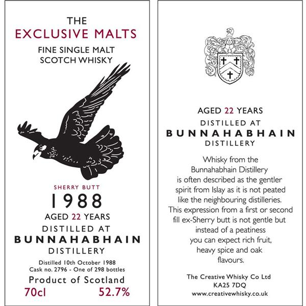 Bunnahabhain 1988 CWC