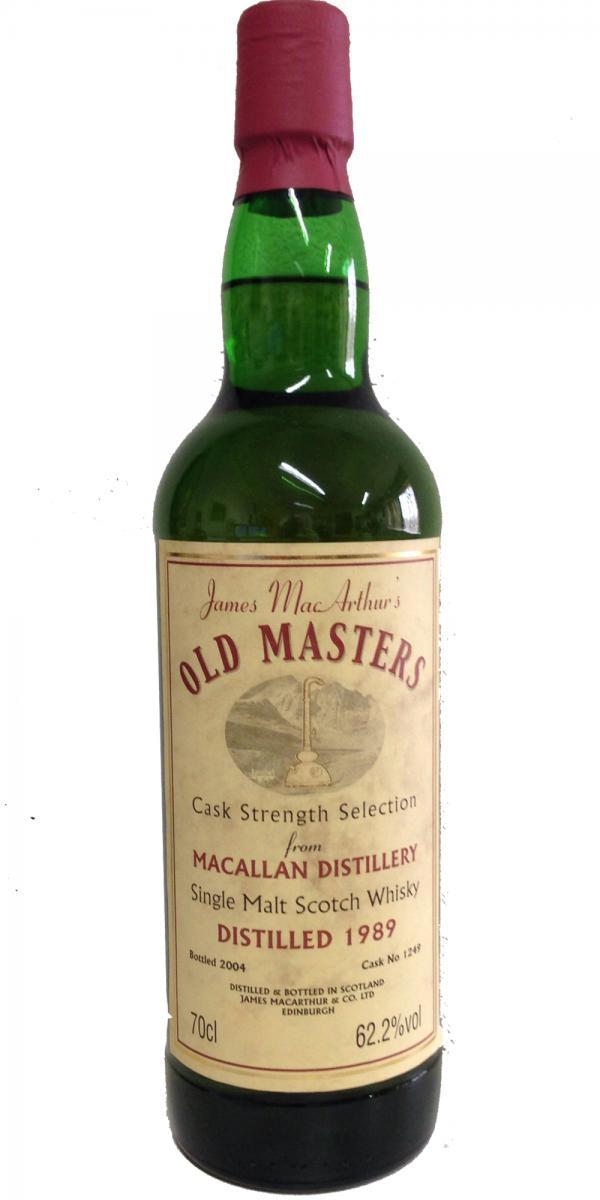 Macallan 1989 JM