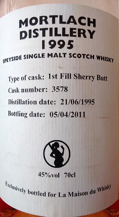 Mortlach 1995 GM