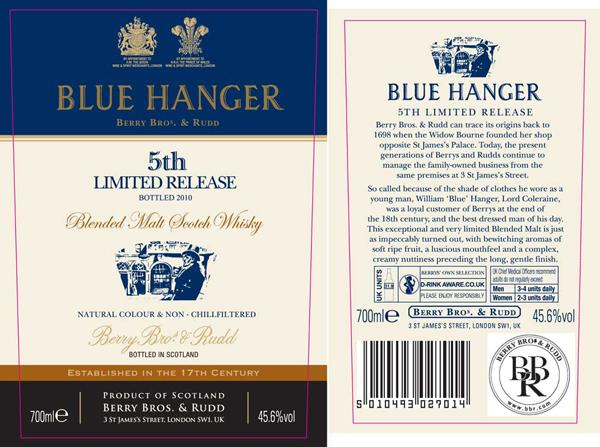 Blue Hanger 5th Limited Release