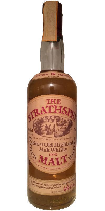 The Strathspey Malt 05-year-old DC&C