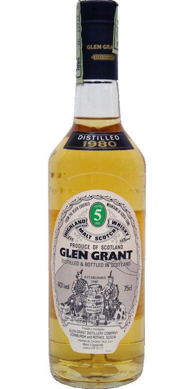 Glen Grant 1980
