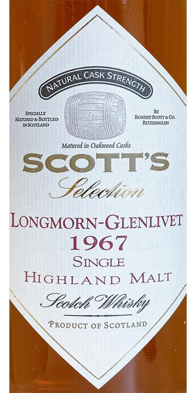 Longmorn 1967 Sc