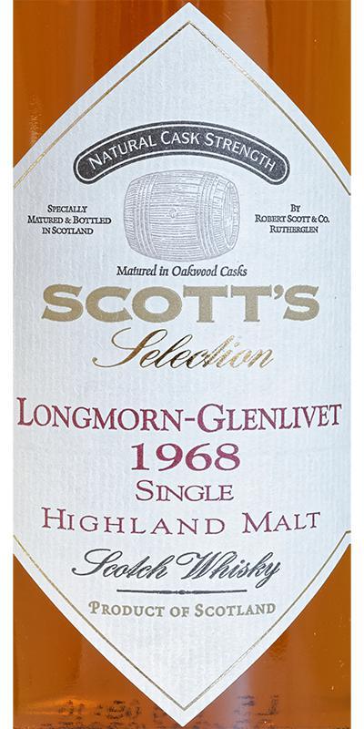 Longmorn 1968 Sc