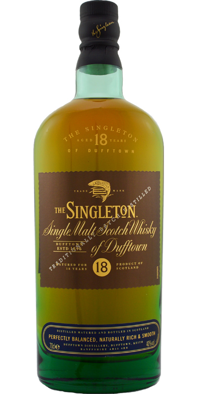 The Singleton of Dufftown 18-year-old