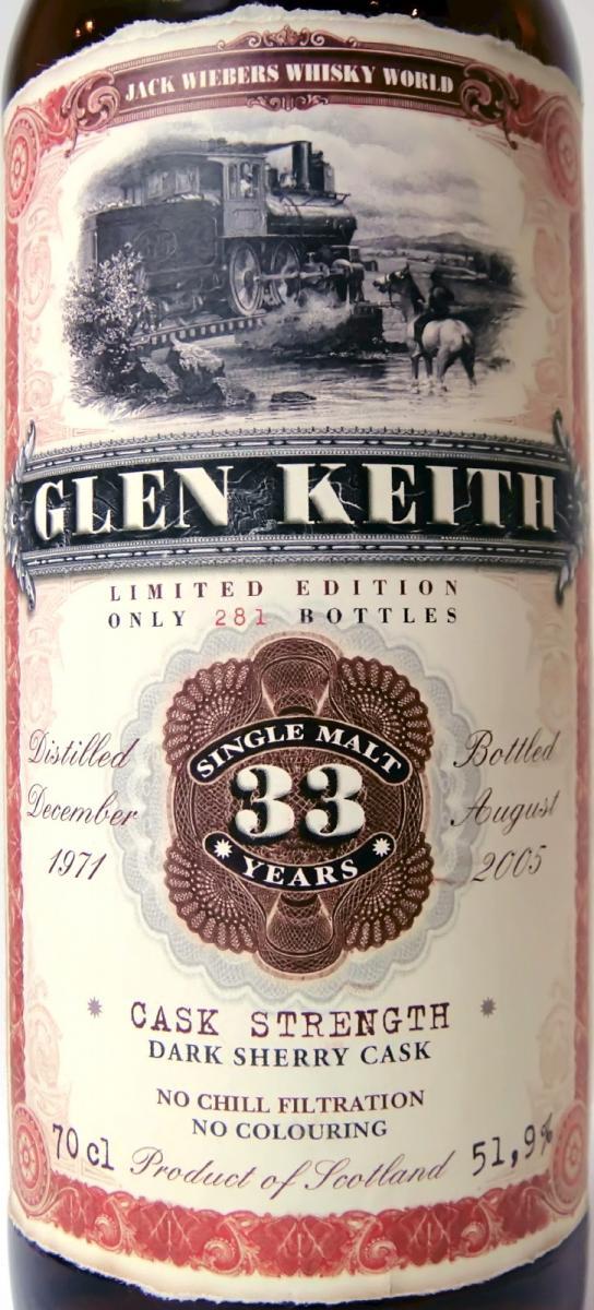 Glen Keith 1971 JW
