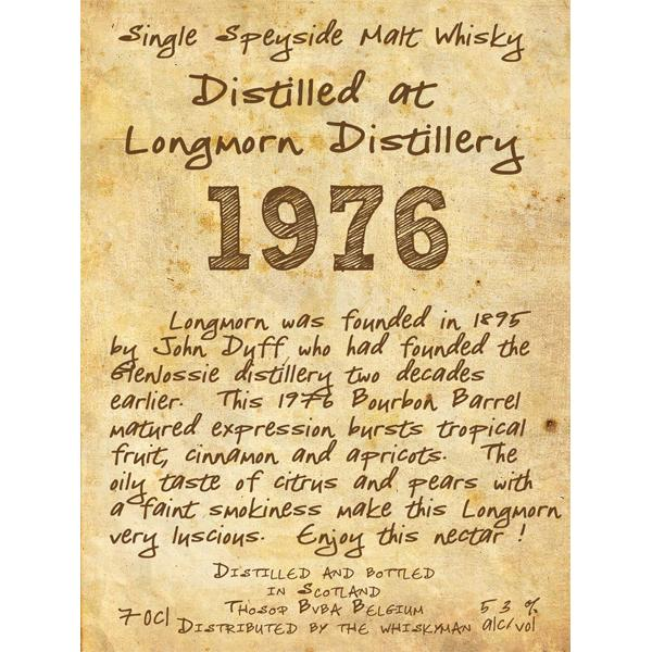 Longmorn 1976 TI