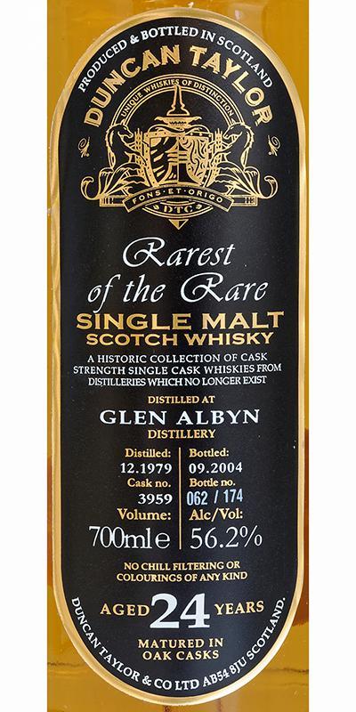 Glen Albyn 1979 DT
