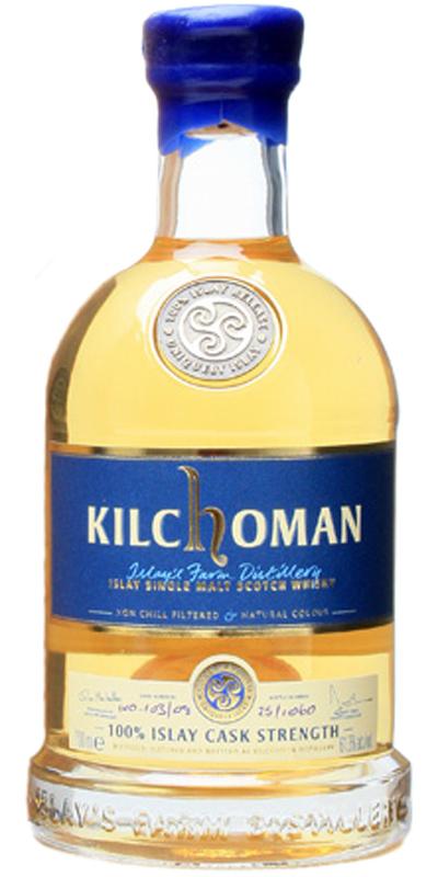 Kilchoman 100% Islay Inaugural Release Cask Strength