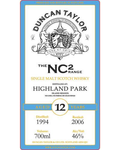 Highland Park 1994 DT