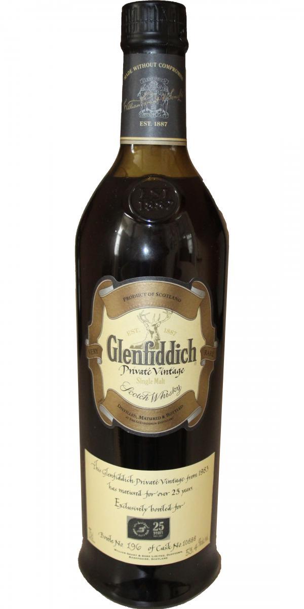 Glenfiddich 1983