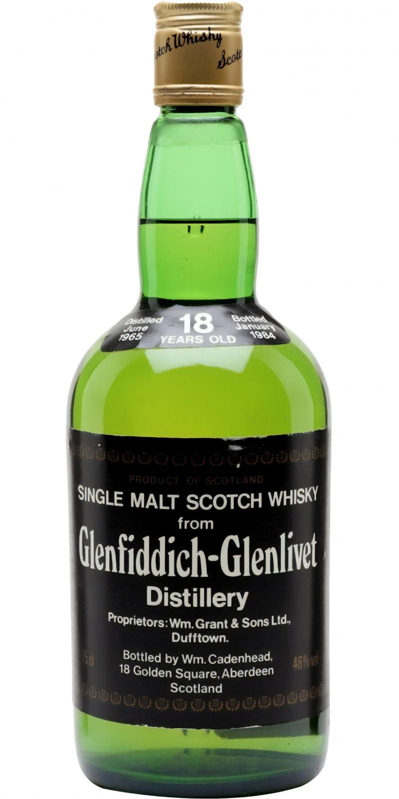 Glenfiddich 1965 CA