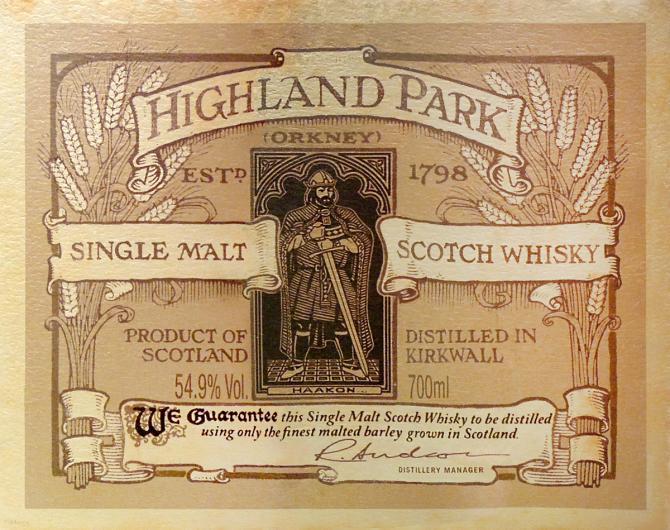 Highland Park Earl Haakon