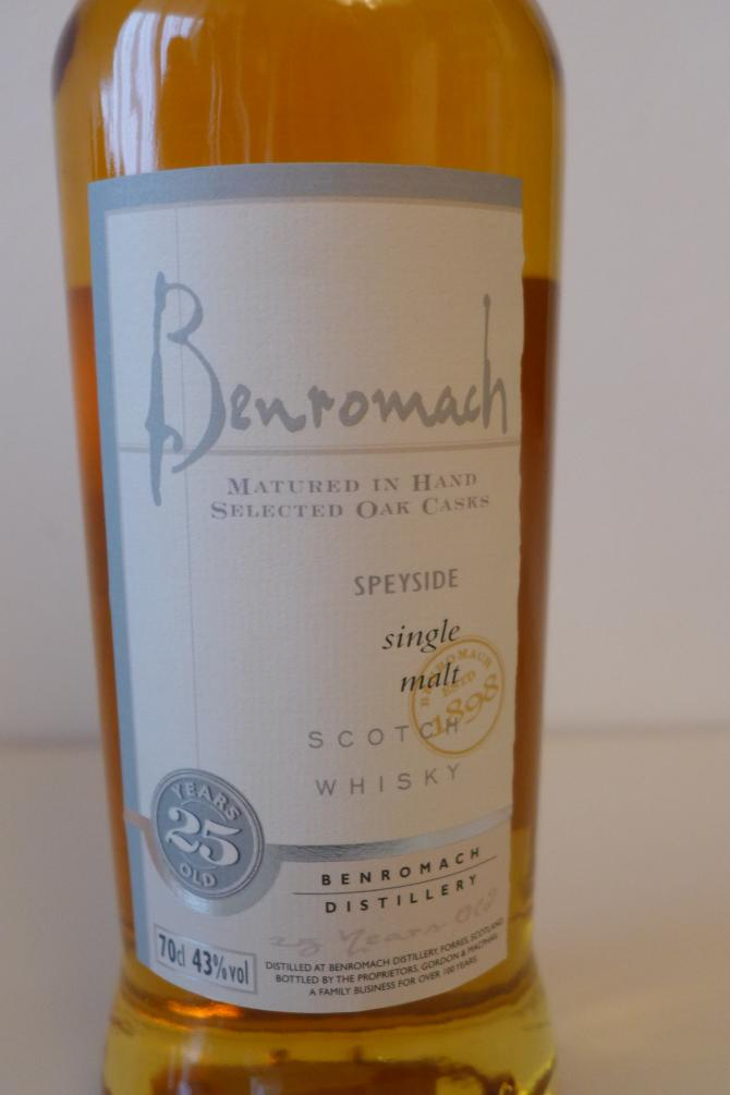 Benromach 25-year-old