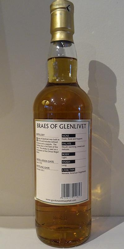 Braes of Glenlivet 1975 GM