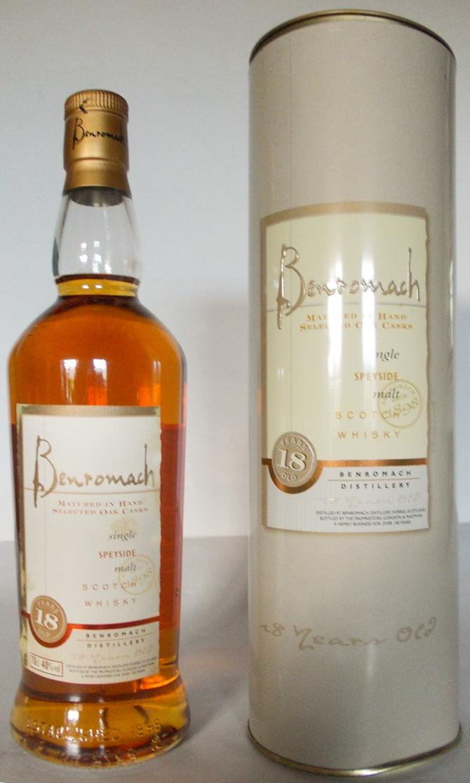Benromach 18-year-old