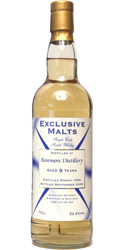 Bowmore 1996 CWC