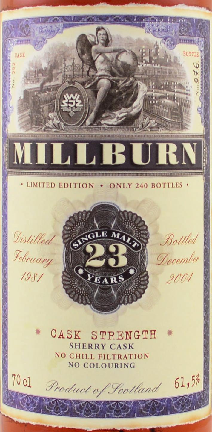 Millburn 1981 JW