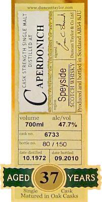 Caperdonich 1972 DT