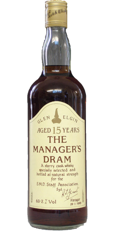 Glen Elgin 15-year-old