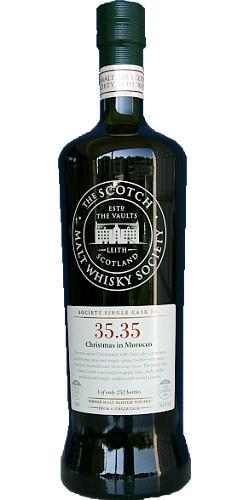 Glen Moray 1996 SMWS 35.35