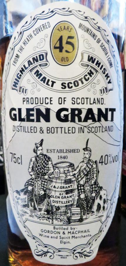 Glen Grant 45-year-old GM
