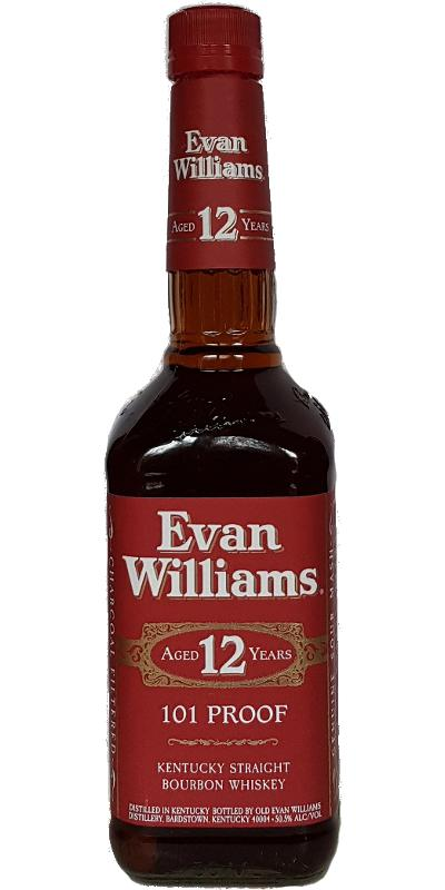 Big Red Storage >> Evan Williams 12-year-old - Ratings and reviews - Whiskybase