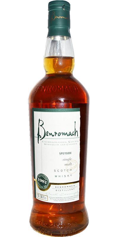 Benromach 1981