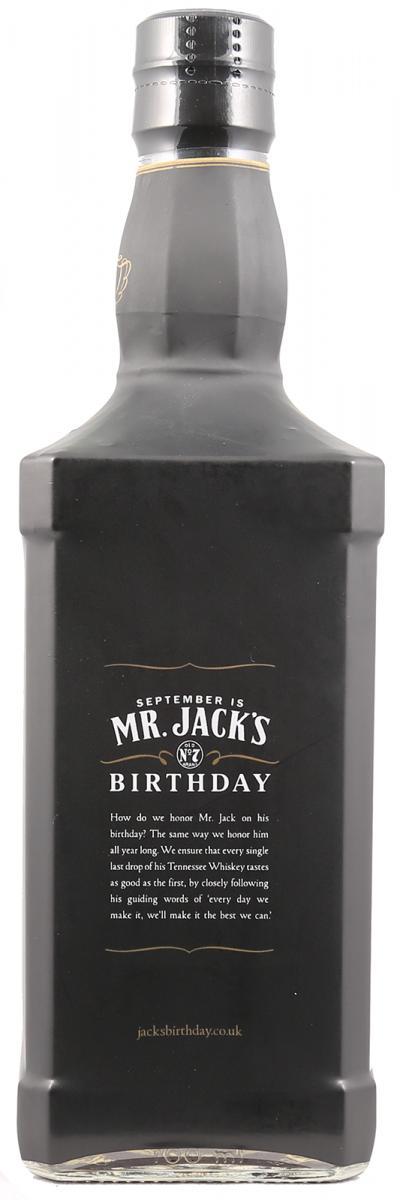 Jack Daniel's Birthday Edition