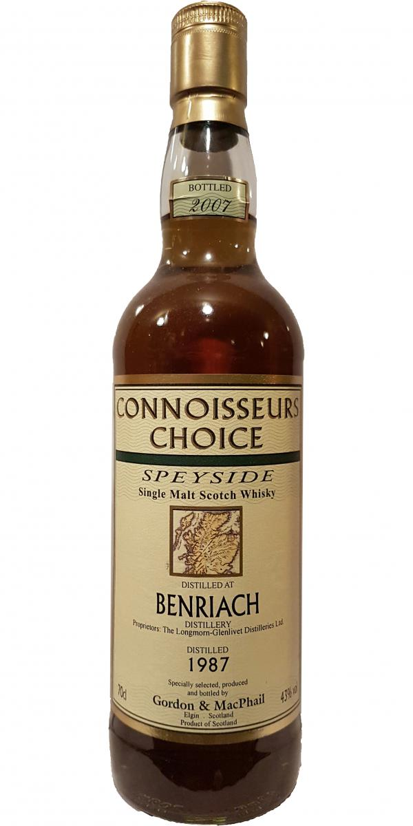 BenRiach 1987 GM