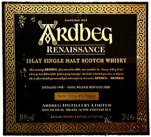 Ardbeg 1998 Renaissance