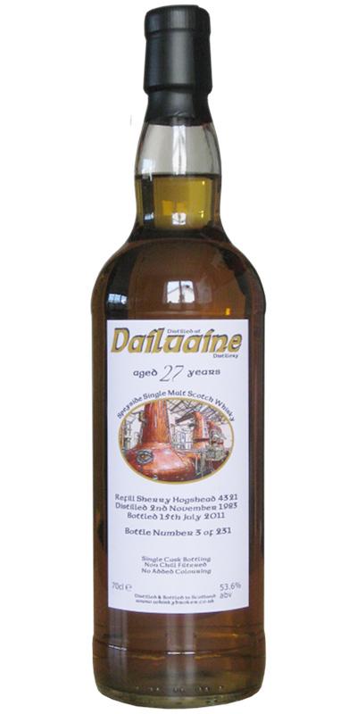 Dailuaine 1983 WhB