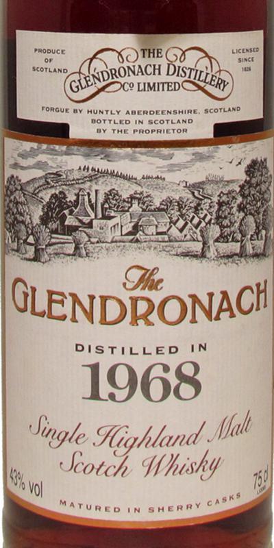 Glendronach 1968