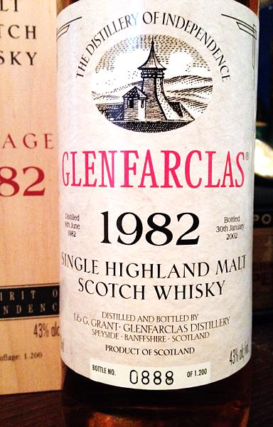 Glenfarclas 1982