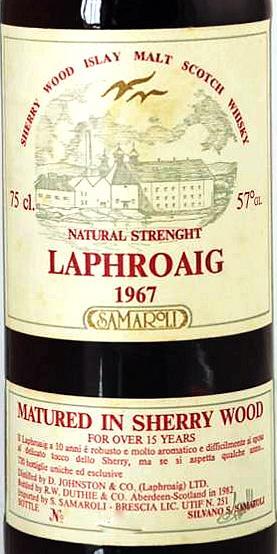 Laphroaig 1967 RWD