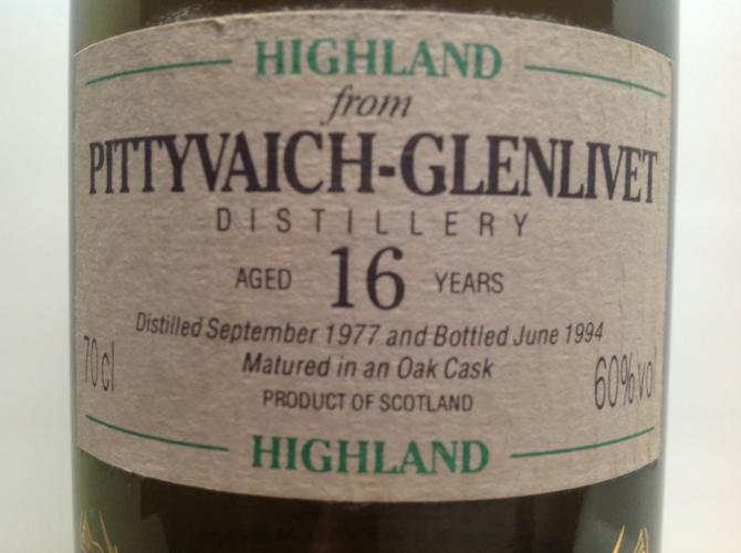 Pittyvaich 1977 CA