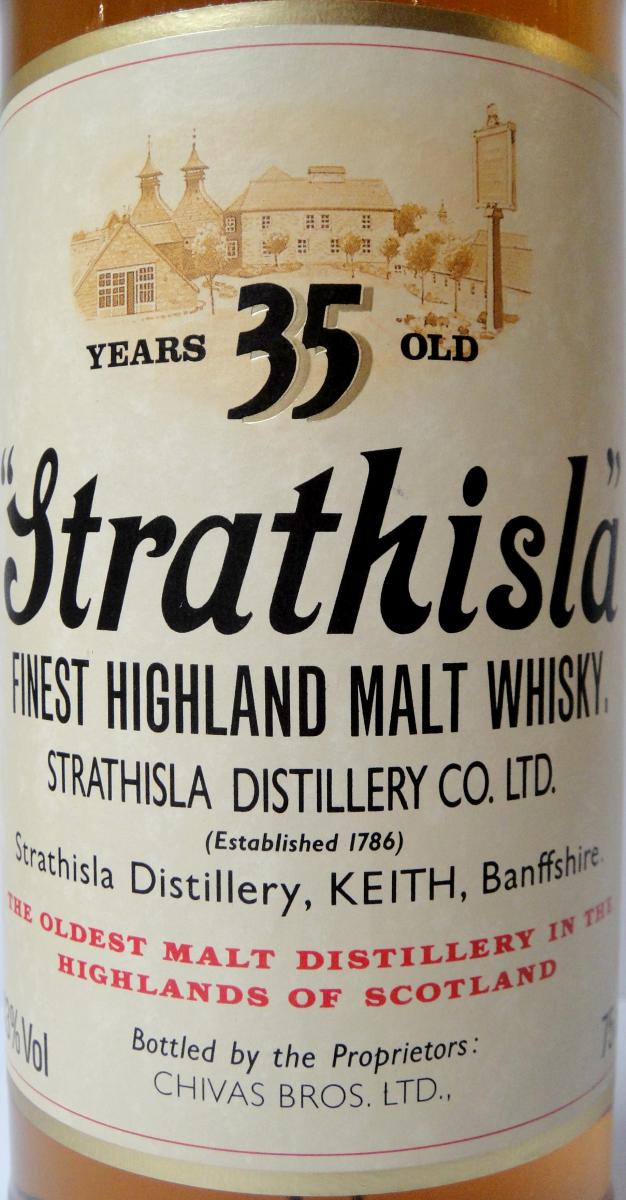 Strathisla 35-year-old