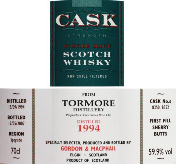 Tormore 1994 GM