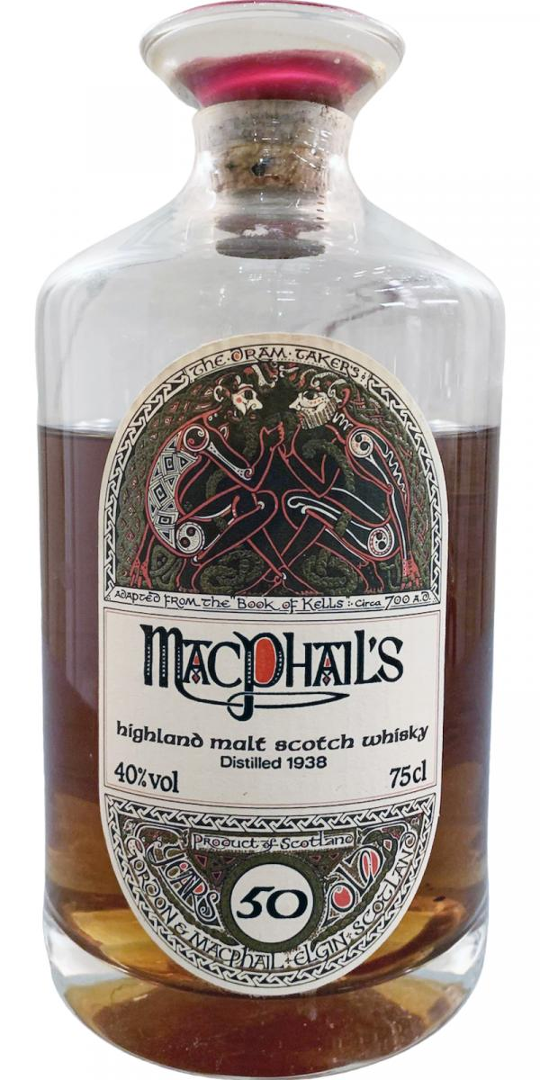 MacPhail's 1938 GM Decanter