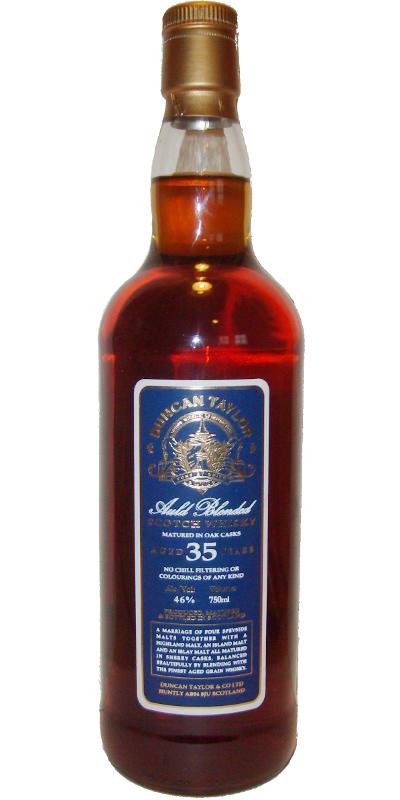Auld Blended 35-year-old DT