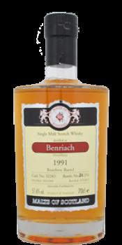 BenRiach 1991 MoS