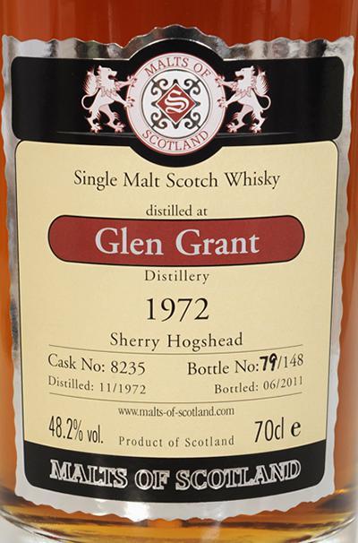 Glen Grant 1972 MoS