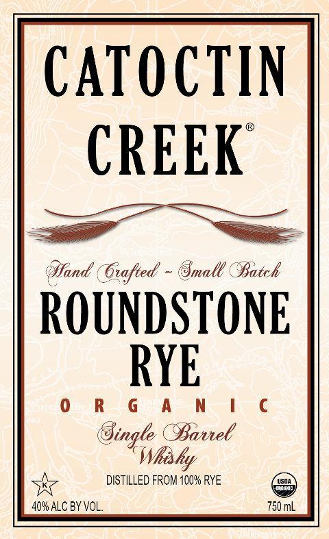 Catoctin Creek Roundstone Rye - Organic