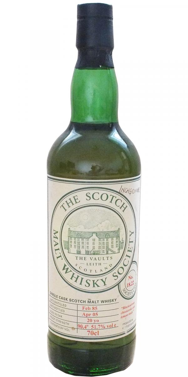 Inchgower 1985 SMWS 18.22