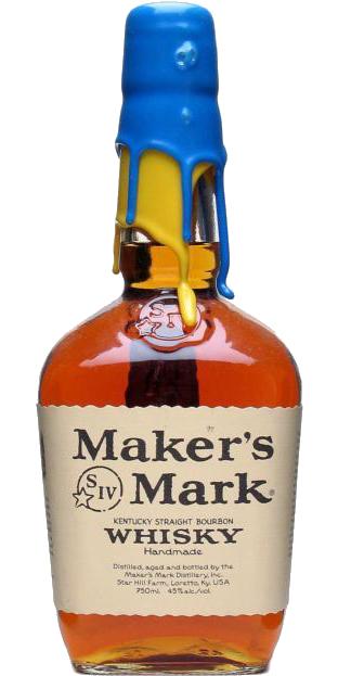 Maker's Mark Blue / Yellow Wax