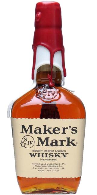 Maker's Mark Red / White Wax