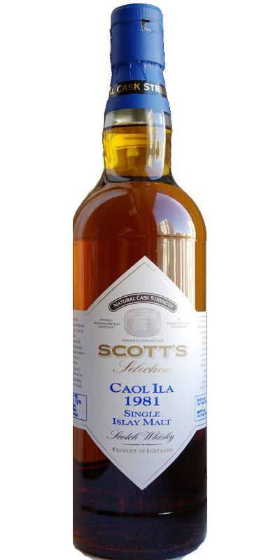 Caol Ila 1981 Sc