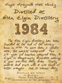 Glen Elgin 1984 TI
